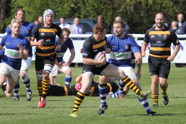 BSRFC Vs Canterbury April '12