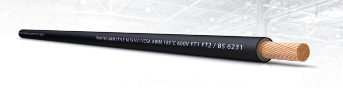 TRI-Rated Panel Wire BS6231 UL/CSA BASEC <HAR> 105˚C