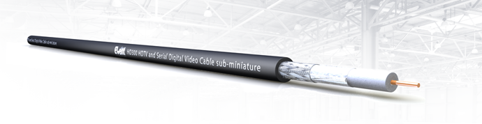 EventSeries® HD300 HDTV and Serial Digital Video Cable sub-miniature