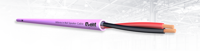 EventSeries® 2core Installation Speaker Cable 500Series LSZH FireFighter®