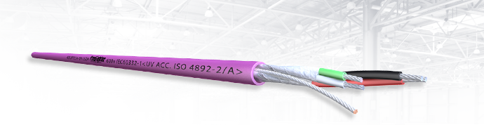 LSZH 420Series 2x2x22awg 600 V – TREND system use :  current loop Lan