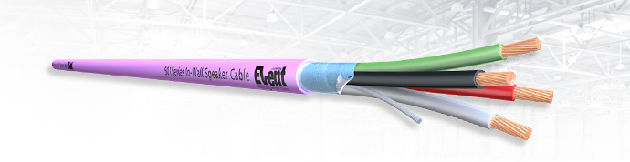 EventSeries® Screened Installation Speaker Cable 510Series LSZH FireFighter®