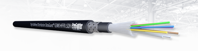 Armada® Tight Buffered Distribution Fibre Optic Cable HFFR SHF-1