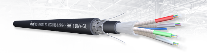 Armada® QFCI Fibre Optic Cable DNV-GL Approved Certified -TAE00000JG
