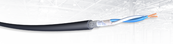 Draka SF/UTP RS485 Signalcable with circuit integrity behavior